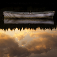 Dawn reflection on Loch Rusky