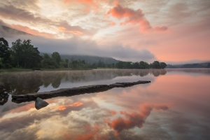 Loch Ard Golden sunrise