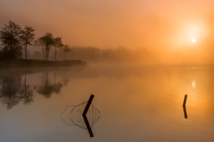 Loch Ard Sunrise and Mist
