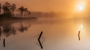 Loch Ard Sunrise and Mist2