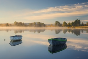 Loch Rusky Autumn Light