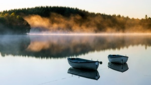 Two Boats, loch Rusky