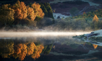 Knapps Loch Autumn Reflection