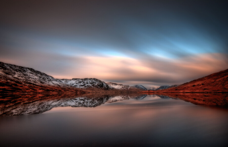 Two minutes on Loch Arklet